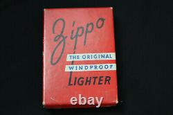 1946 Vintage Zippo Original RED Box VERY RARE (Empty)