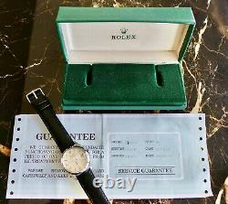 A Rare & Stunning Vintage 1966 Rolex Air-king Date Explorer Dial Box Service His