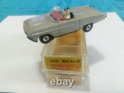 AURORA TJET VINTAGE HO #1355 RARE GRAY Thunderbirdwithorig. Box, label, foam, instruc