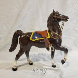 Breyer Vintage Canadian Mountie & Fury Prancer with BOX NAN qualified! Rare