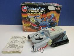 Complete THUNDERCATS THUNDERTANK VEHICLE VINTAGE original LJN RARE 1985 BOXED