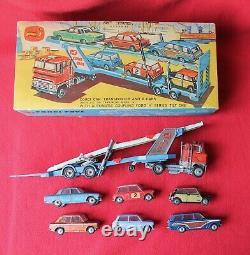 Corgi Toys RARE Gift Set No41 FORD TRANSPORTER & 6x Cars Diecast VINTAGE Boxed