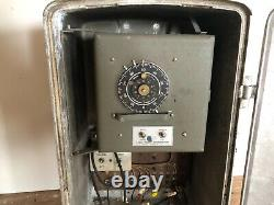 Eagle lux 4 way vintage 50s traffic light AND controller box RARE COMBINATION