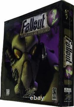 Fallout 2, Big Box, Vintage 1998, New! , Rare, Near Mint in Sealed Box