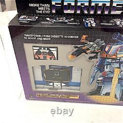 G1 Soundwave Transformers Hasbro Afa 80 Vintage Sealed Rare Toy Robot