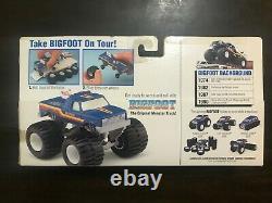 Hot Wheels BIGFOOT Champions Monster Rig Monster Truck Box Rare Vintage