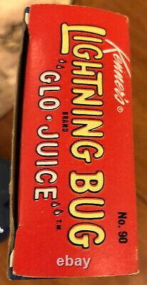Kenner 1967 Lightning Bug Glow-In-The-Dark Glo Juice Paint in Box 1960s Vtg Rare