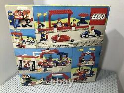 LEGO 1987 Vintage Legoland 6381 Motor Speedway Racing Track Sealed New Very Rare