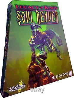 Legacy Of Kain Soul Reaver PC Vintage 1999 Rare Triangle Box New! MISB