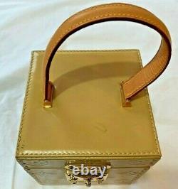 Louis Vuitton Bleecker Box Bag VINTAGE RARE ID AA0938