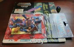 Masters of the universe vintage moc Man e faces top toys clear bubble Rare box
