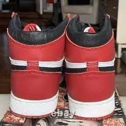 NIKE AIR JORDAN I 1 CHICAGO WHITE RED 1994 With OG BOX SZ 6 153126-101 RARE VTG
