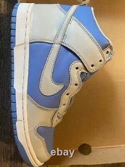 Nike Dunk High 2003 Nt Grey/Univ Blue DS VINTAGE RARE OG With Box DEADSTOCK