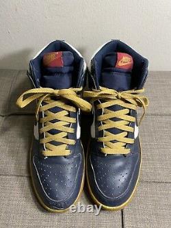 Nike Dunk High 2010 Olympics 344648-141 Size 10 No Box Rare Vintage