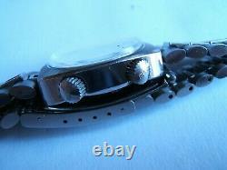 Nos Rare Vtg 70s Bulova Snorkel 666 Automatic N1 Diver Compressor 2 Crowns W Box