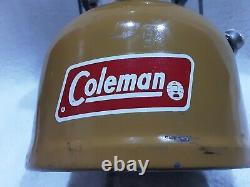 ORIGINAL COLEMAN GOLD BOND 200A LANTERN rare vintage no box/papers DATED 2/73