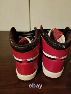 Og Vintage 1985 Nike Air Jordan 1 Chicago Size 11 Rare Soft Collars Ty1 No Box