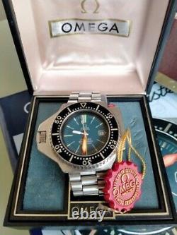 Omega Seamaster Ploprof 600m Set Box/ Book/ Tag/ Straps- Rare Vintage Diver