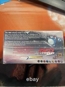 Pokemon Neo Genesis Unlimited Sealed Booster Box WOTC Vintage Rare 2000