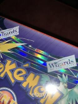 Pokemon WoTC Wizards Sealed Booster Box Legendary Collection Rare Vintage New