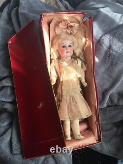 RARE 16 ALL ORIGINAL Antique Bébé Cosmopolite Bisque Doll Germany With BOX