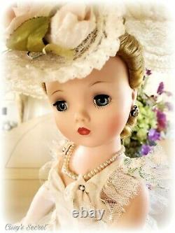 RARE! Minty Vintage Cissy Doll in Flowery Painted Gown in Box All Original 1958