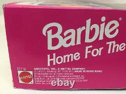 RARE NEW 1994 Mattel Barbie Home For the Holidays Playset SEALED BOX (No Dolls)