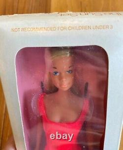 RARE NEW IN BOX Vintage 1974 Mattel The Sun Set Malibu Barbie Doll No. 1067