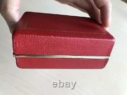 RARE VINTAGE 1960-70s ROLEX TUDOR HARD SHELL SHIELD BOX 7928 9401 94110 94010