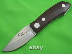 RARE Vintage COLT Barry Wood Tuck-Away Folding Hunter Knife U1050, Box, Sheath