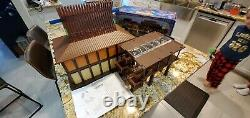 RARE Vintage Disney's Polynesian Resort And Spa Monorail Toy Playset withBox