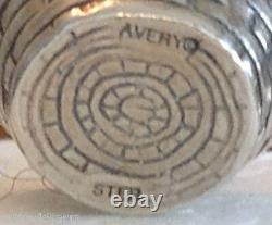 RETIRED JAMES AVERY EASTER BASKET CHARM with JA BOX STERLING SILVER RARE VINTAGE