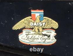 Rare 1936 Vintage Working Daisy BB Gun No. 50 Jubilee Golden Eagle & Box (Rifle)