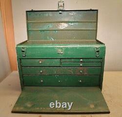 Rare 5 drawer SK mechanics machinist tool box socket tray vintage collectible