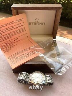 Rare Eterna Matic Kontiki 20 vintage + Original Box SERVICED