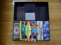 Rare NOS Movado Artist's Series Kenny Scharf Limited 5/25 Edition 6 Watches Set