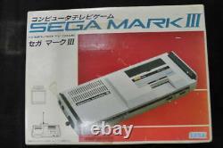 Rare SEGA MARK mark 3 box Japan game console controller AC adaptor Vintage EMS