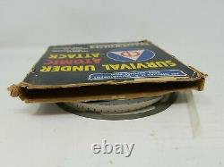 Rare Vintage 16mm film Nuclear Weapons SURVIVAL UNDER ATOMIC ATTACK with box