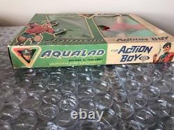 Rare Vintage 1967 Ideal Action Boy Aqualad Captain Action Aquaman Boxed WOW