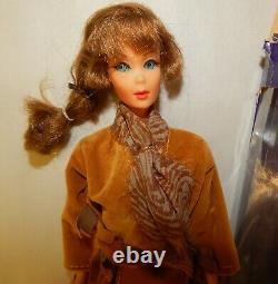 Rare Vintage 1968 Mattel Talking Barbie Doll Stock No 1115 with Box