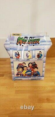 Rare Vintage 1986 My Pet Monster Beastur Plush Boxed AmToy
