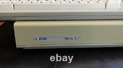 Rare Vintage Atari Mega St2 Computer System (vgc Boxed)