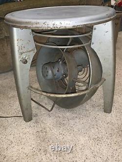 Rare Vornado Vintage Fan Seat stool table floor working