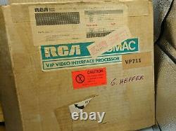 Rca Cosmac Vip Vp 711 Vip Microcomputer Rare Early Vtg Box Interface Processor