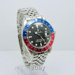 Rolex GMT Master 1675 Long E MK1 with Box and Papers 1972 Pepsi Rare Vintage