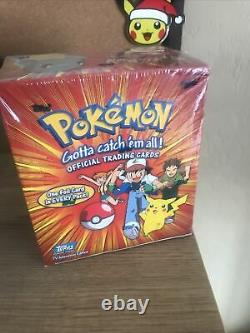 Sealed Topps Pokemon Series 1 Booster Box Very Rare (Vintage) 37 Packs