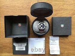 Tag Heuer 2000 Chronograph Automatic Vintage. Rare Blue Dial CK2111