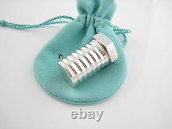 Tiffany & Co RARE VINTAGE Silver Nut Bolt Screw Pill Box Container Case