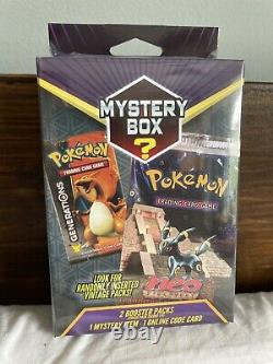 USA Pokemon Walmart Mystery Box 14 Vintage Pack Factory Sealed 2 Booster Packs