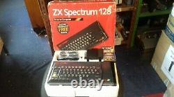 Ultra Rare Vintage Sinclair Zx Spectrum 128 Toast Rack Computer (mint Boxed)
